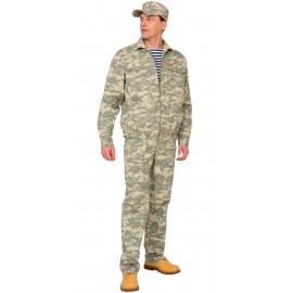 "Костюм ""Рысь"" куртка, брюки (тк. Рип-стоп 210) КМФ Пустыня"