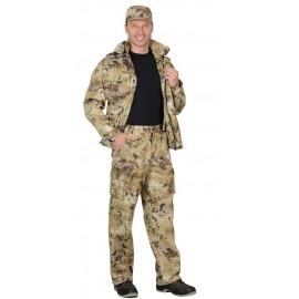 "Костюм ""Пума"" куртка, брюки (тк. Грета 210) КМФ Савана"