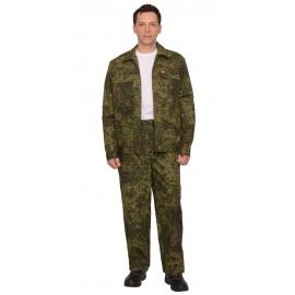 "Костюм ""Рысь"" куртка, брюки (тк. Рип-стоп 210) КМФ Цифра зеленая"