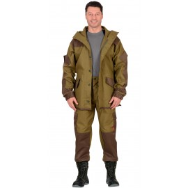 "Костюм ""Горка"" куртка, брюки (п-но палаточн.+отделка тк.Кроун) Хаки"