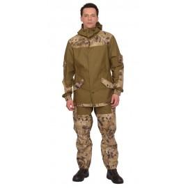 "Костюм ""Горка"" куртка, брюки (п-но палаточн.+отделка тк.Кроун) КМФ Савана"