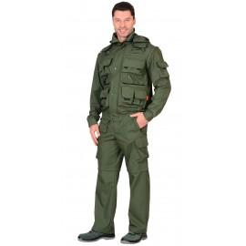 """Костюм """"Тигр"""" куртка, брюки (тк. Рип-стоп 210) Олива"""