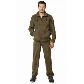 Костюм флисовый 260г/кв.м куртка, брюки оливковый