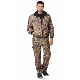 "Костюм ""Пикник"" демисезон.: куртка, брюки (тк. Оксфорд) КМФ Темный лес"
