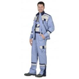 """Костюм """"БОСТОН"""" : куртка кор., п/комб., сиреневый с молочным и синим и СОП"""