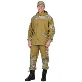 "Костюм ""Горка"" куртка, брюки (п-но палаточн.+отделка тк.Рип-стоп) Мультикам"