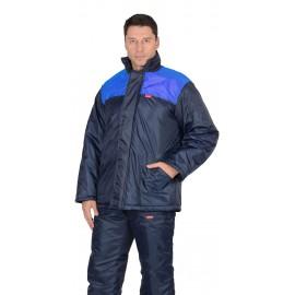 """Куртка """"Рост"""" синяя с васильковым"""