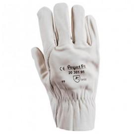 """Перчатки кожаные """"ГРЕЙН ДРАЙВЕР"""" (2030195 Sperian) (белая воловья кожа 0,8-1,2мм, дл.250мм, резинка)"""