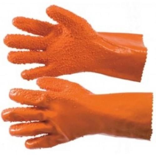 длинные резиновые перчатки для рыбалки