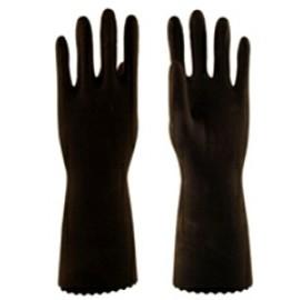 Перчатки КЩС Т-1 L-U-03 (12/120) р. 8-M (латекс, внутренний слой Silver, толщ.0,45мм, дл.300мм)