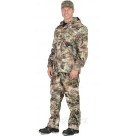 """Костюм """"Егерь +"""" куртка, брюки (тк. Кроун 230) КМФ Серый мох"""