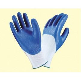 Перчатки нейлоновые с нитриловым покрытием ладони и пальцев