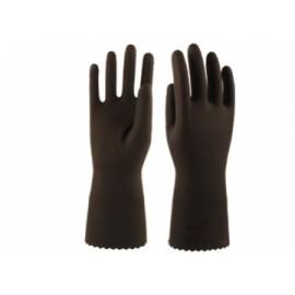 Перчатки КЩС-2 L-U-032 р. 8-M (латекс, без внутреннего покрытия, толщ.0,40мм, дл.300мм)