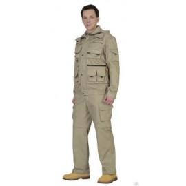 """Костюм """"Тигр"""" куртка, брюки (тк. Rodos 245) Песочный"""