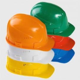 """Каска защитная """"ЩИТ"""" белая,  желтая, зеленая,  красная,  оранжевая,  синяя"""