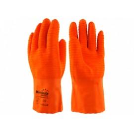 "Перчатки рыбообработчика ""Фишер"" L-T-17 (Manipula), подкладка х/б, двойной латекс на ладони, р.L"